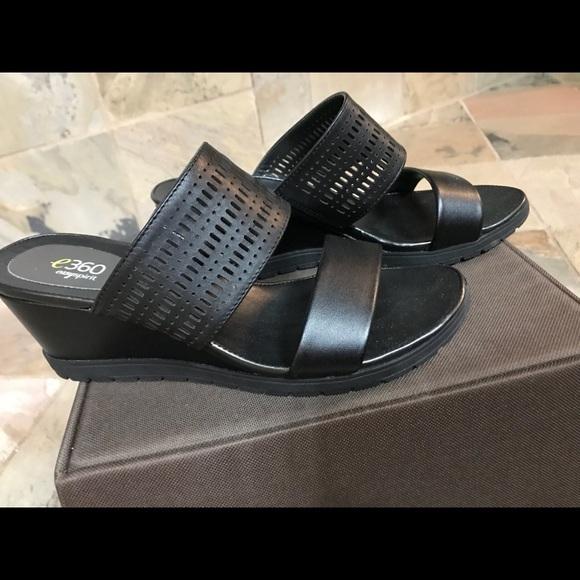 c0257712213 Easy Spirit Shoes - Easy Spirit Black e360 wedge. Sz. 7.5